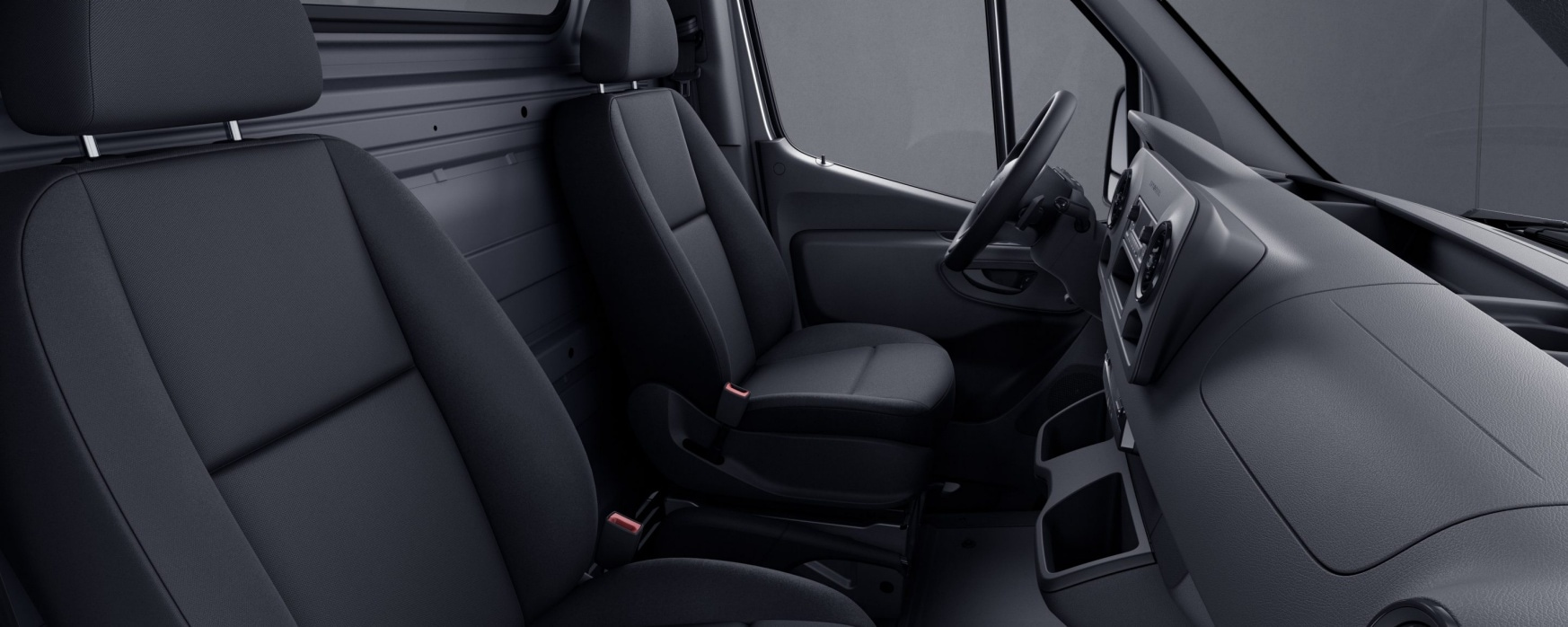 Sprinter Chassis Cab, Maturin black fabric