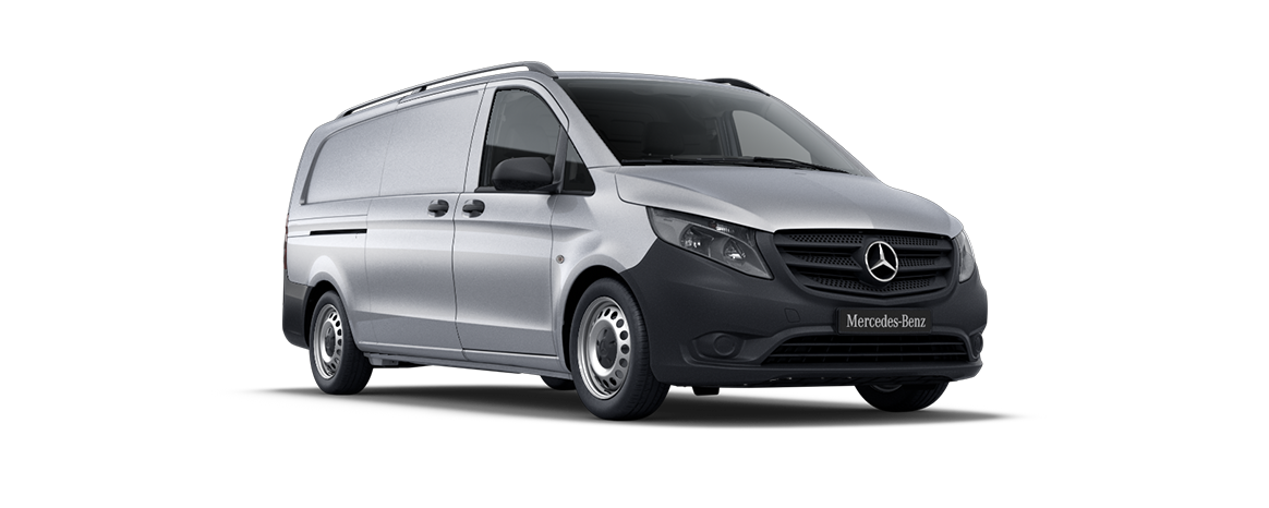 Vito panel van, brilliant silver