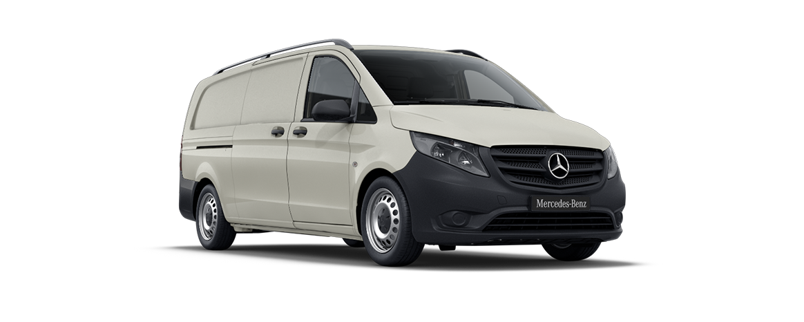 Vito panel van, pebble grey