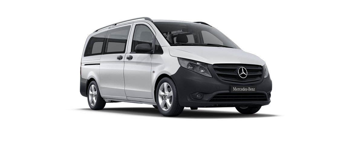 Vito Tourer, rock crystal white metallic