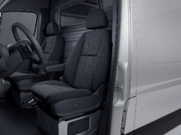 Sprinter Platform Vehicle, driver's seat with lumbar support