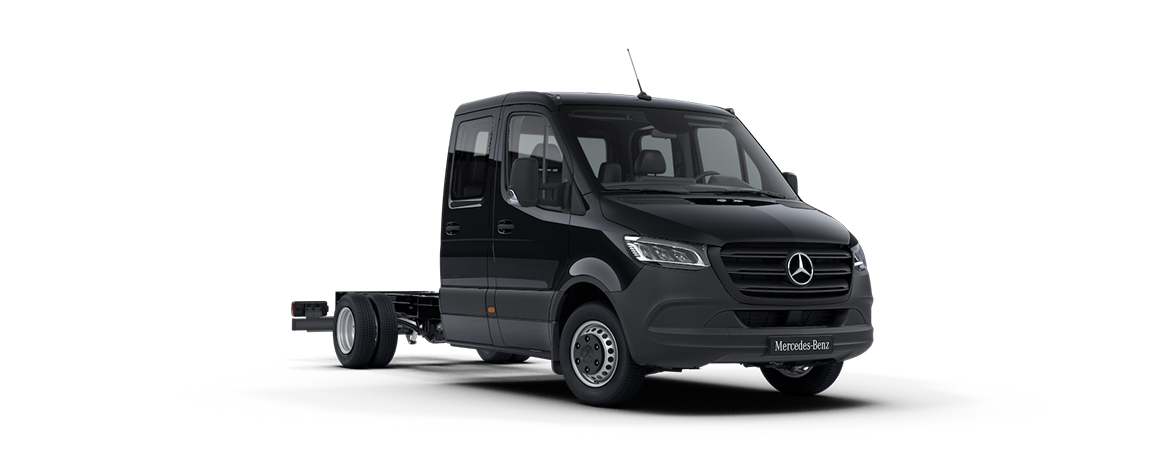 Sprinter Chassis Cab, obsidian black