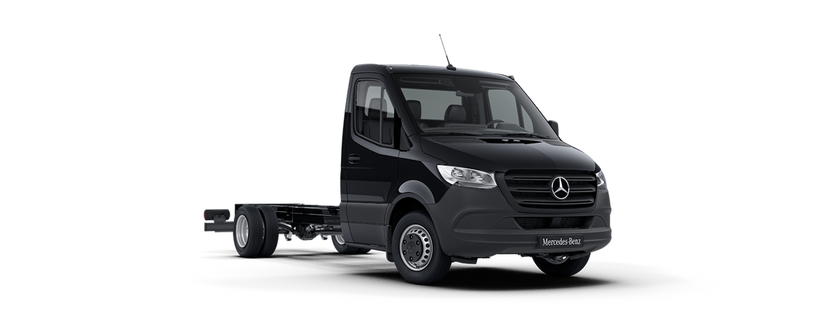 Sprinter Chassis Cab, jet black