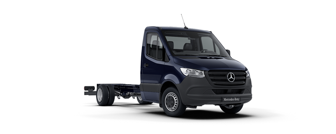 Sprinter Chassis Cab, steel blue