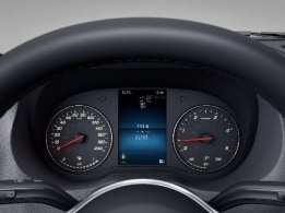 Sprinter Chassis Cab, instrument cluster with colour display