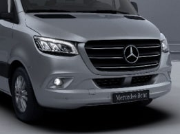 Sprinter Tourer, chrome-plated radiator grille