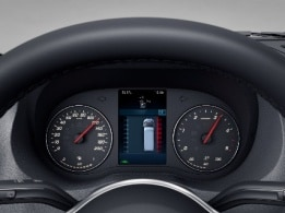 Sprinter Tourer, instrument cluster with colour display