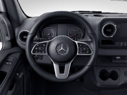 Sprinter Tourer, multifunction steering wheel