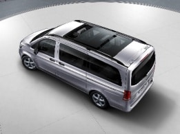 Vito Tourer, panoramic sliding sunroof